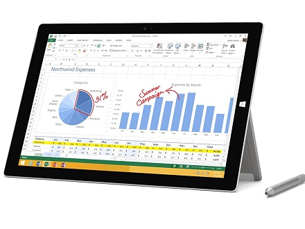 تبلت استوک مایکروسافت سرفیس پرو 3 (Microsoft Surface Pro 3)
